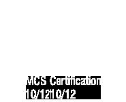 MCS Certification