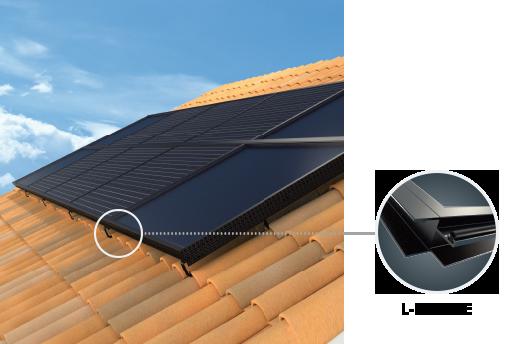 Panneau solaire R-VOLT en sur-toiture