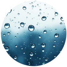 L'humidité qui pénètre facilement est un signe que votre logement est malade