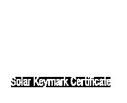 Solar Keymark Certificate