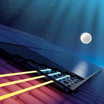Rafraîchissement du logement grâce à l'aérovoltaïque